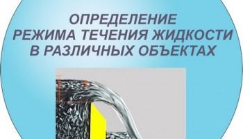 Дистанционная лабораторная работа 9. Определение режима течения в различных объектах